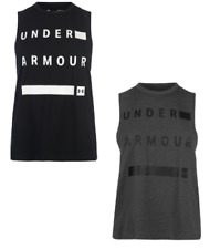 Under Armour Mujer Sin Mangas Camiseta Chaleco Tirantes Fitness 1454