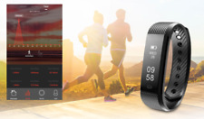 Smart Bracelet Heart Rate Monitor Activity Tracker Waterproof For IOS Android