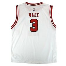 Dwyane Wade NBA Chicago Bulls Official Home White Player Replica Jersey Youth