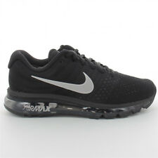 Nike Air Max 2017 Mens Running Shoes Black Silver  Grey Sneakers trainers