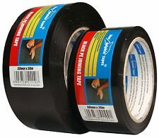 Builders Tape Black a Strong PVC Tape Used for jointing PVC AND POLYTHENE Sheets