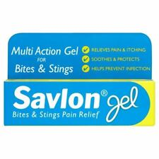Savlon morsures et piqûres Pain Relief Gel 20g 1 2 3 6 12 Packs