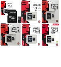 Micro sd 8 GB 16 GB 32 64 GB Kingston Scheda Memoria classe 4 10 MICROSD