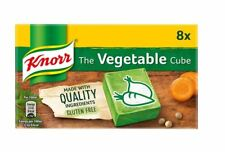 Knorr Stock Cubes Beef Chicken Lamb Fish  Lactose Free Diet & Gluten Free 8 x10g