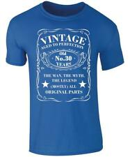 Vintage 30 Years Old T-Shirt - 30th Birthday T-Shirt - 30th Birthday Present