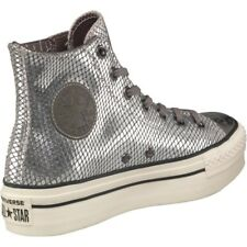 Converse Womens CT All Star Hi Platform Snakeskin Chelsea Trainers RRP £89.99