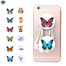 Butterfly Pop Up Out Expandable Phone Grip Holder Mount Universal Tablet Stand
