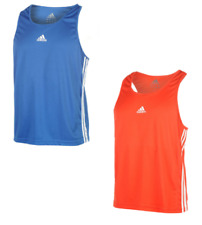 Adidas Punch Cajas Hombre Sin Mangas Camiseta Tirantes Chaleco Fitness 0143