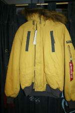 ALPHA INDUSTRIES giacca Mountain SV ROSSO GIALLO SABBIA 133144 NUOVO 2018 New