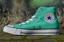 Converse All Star Chuck Scarpe Uomo Donna High Top Sneaker da Ginnastica Menta
