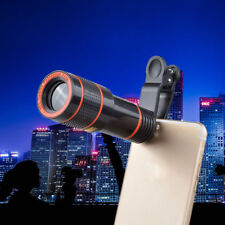 HD Clip-on12X Optical Zoom Telescope Camera Lens Compatible with Apple