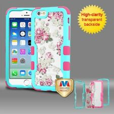 Frame+Dianmante Back TUFF Vivid Hybrid Protector Cover for APPLE iPhon