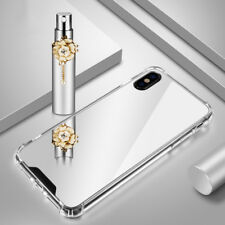 Luxury Acrylic Mirror Makeup Clear Slim Soft Phone Case Cover For iPhone X 8 7 6