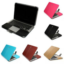 "Cuoio custodia borsa per Laptop Cover per MacBook 12 "" Air Pro Retina 11 13 15"