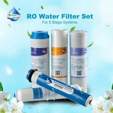 5x Full RO Water Filters fit 5 Stage Reverse Osmosis System 50GPD Aquarium Fish