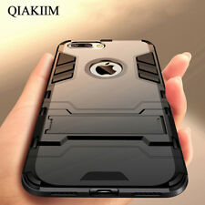 Luxury Hybrid Rugged Shockproof Armor Stand Phone Case Cover For iPhone Samsung