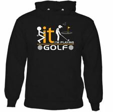 I'm Playing Golf Hombre Divertido Golfing Sudadera Con Capucha Player Clubs