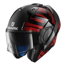 Casque modulable Shark Evo One 2 Lithion rouge