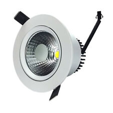 Downlight Led COB Empotrable Orientable 12W