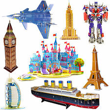 3D Puzzle Tower Bridge Nave Pirata Frigate 3D cucina camera da letto NUOVO