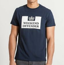 WEEKEND OFFENDER PRISON T-SHIRT in NAVY