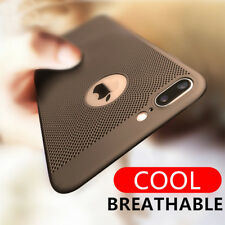Ultra Slim Heat Dissipation Hollow Mesh Back Phone Case Cover For iPhone X 7 6 5