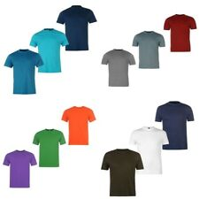Branded NEW Donnay 3 Pack Crew T Shirts Mens