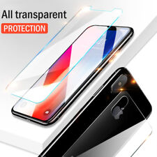 2Pc Front+Back Plasma Spraying 9H Tempered HD Glass Cover For iPhone X 8 7 6 5