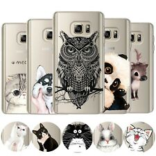 Cartoon Silicone Soft Case Cover for Samsung Galaxy S9 S9+ S8 S7 S6 Edge J3 J5