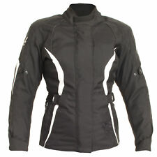 Rst Diva 3 III Mujer Textil Impermeable montar Chaqueta moto - 1255 - Negro