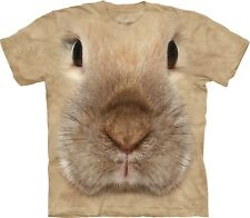 The Mountain Unisexe Enfant Lapin Visage T Shirt
