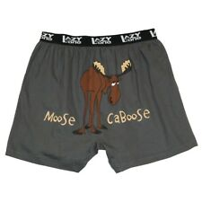 LazyOne Moose Caboose Hommes Boxer Shorts