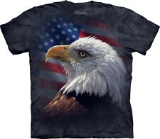 American Pride Eagle T Shirt Adult Unisex Mountain