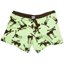 LazyOne Junior Womens Funky Moose PJ Boxers