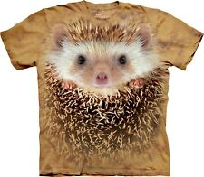 Mountain Maglietta Big Face Hedgehog Animal Bambino Unisex