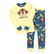 LazyOne Unisex Monkeying Around Bambini Pigiama Set Manica L