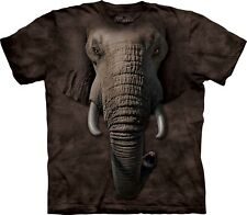 The Mountain Maglietta Elephant Face Zoo Bambino Unisex