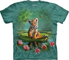 The Mountain Maglietta Tiger Lily Big Cat Bambino Unisex
