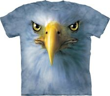 The Mountain Maglietta Eagle Face Birds Bambino Unisex