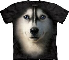 The Mountain Maglietta Siberian Face Dogs Bambino Unisex