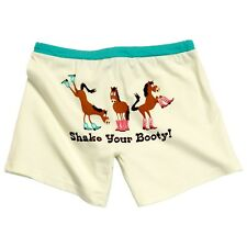 LazyOne Junior Donna Booty Sleep Pigiama Boxers
