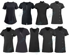 BLACK BEAUTY TUNICS FOR SALONS, SPAS, HAIRDRESSERS, HEALTH CARE PROFESSIONALS,