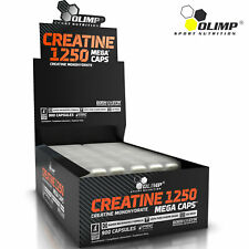 STRONGEST CREATINE MONOHYDRATE Pills 1250 mg - Anabolic Muscle Builder & Energy