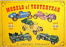 """Vintage Lesney MATCHBOX """"MODELS OF YESTERYEAR"""" Series Rare Diecast Vehicles"""