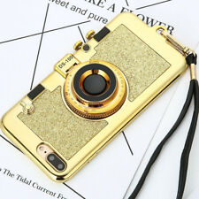 Luxury 3D Plating High Quality Camera Mirror Gel Phone Case Cover For iPhone 6 7