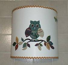 PARALUME GUFO STOFFA–LAMPSHADE OWL–ABAT JOUR TISSU HIBOU–COLLEZIONE-COLLECTION