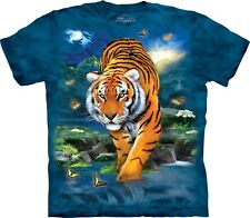 The Mountain Maglietta Unisex Adulto 3D Tiger Zoo