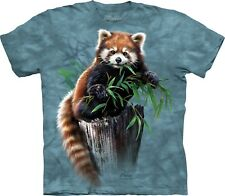The Mountain Maglietta Unisex Adulto Bamboo Red Panda Zoo