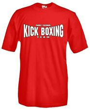 T-Shirt girocollo manica corta Sport P37 Boxe Fuori i Secondi Kick Boxing team