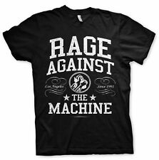 Rage Against the Machine College Rock Licensed Tee T-Shirt Men